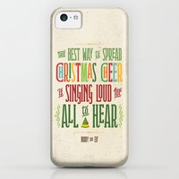 Buddy the Elf! The Best Way to Spread Christmas Cheer is Singing Loud for All to Hear iPhone & iPod Case by Noonday Design | Society6