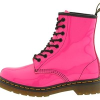 Dr. Martens 1460 W Dusty Blue Patent Lamper - Zappos.com Free Shipping BOTH Ways