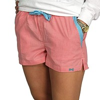 Lounge Short in Watermelon Seersucker by Frat Collection