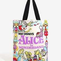 Loungefly Disney Alice In Wonderland Tote - BoxLunch Exclusive