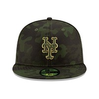 New Era 59FIFTY New York Mets Camo Armed Forces Day On Field Fitted Hat