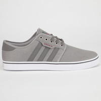 Adidas Seeley Mens Shoes Aluminum/Mid Cinder/White  In Sizes