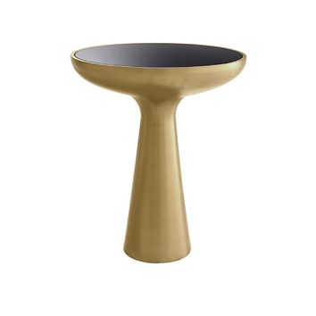 Brass Tower Side Table | Eichholtz Lindos Low