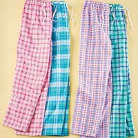 Women's Sets of 2 Flannel Lounge Pants