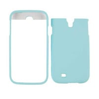 Unlimited Cellular Snap-On Case for Samsung Galaxy S4 (Fluorescent Light Blue)