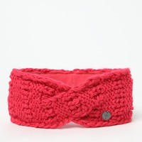 Roxy Winter Joy Headband - Womens Sweaters - Hot Pink - One