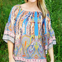 Fringe Paisley Dress | Ally B