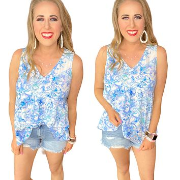 Clearwater Tank-Vneck-Beach-Babydoll fit