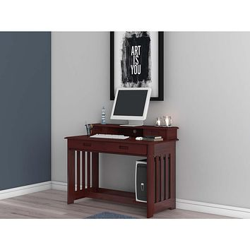 Alexandra Merlot Desk and Chair