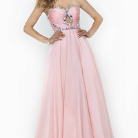 Keyhole Strapless Gown by Splash by Landa Designs