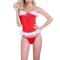 best gift for Christmas sexy lingerie for women erotic underwear Red White One Size Transpare lingerie sexy hot erotic underwear