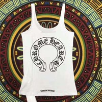 Chrome Hearts sleeveless vest for women top H-A-XYCL