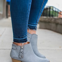 Main Focus Booties - Grey