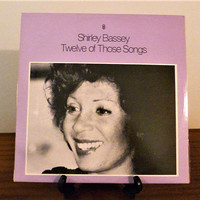 "Vintage 1968 Shirley Bassey ""12 of Those Songs"" Vinyl LP Album / Jazz Album"