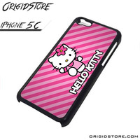 Hello Kitty pink hello kitty Case Iphone 5C Case for Iphone 5C Ali
