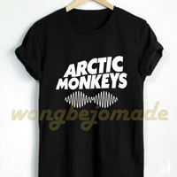 Arctic Monkeys Shirt Arctic Monkeys Merch Tshirt Black, Grey, Maroon, Navy and White Color Unisex T-Shirt