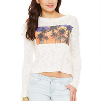 Palm Tree Sweater - Multi