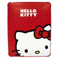 Hello Kitty KT4345R Polycarbonate Case for iPad- Red
