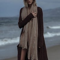 Free People Womens Koda Brushed Scarf