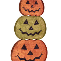 Dia de Los Muertos Collection LED Jack-O-Lantern Stack