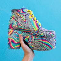 Totally Trippin' Platform Boots