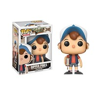 FUNKO POP GRAVITY FALLS & DIPPER PINES Action Figure dolls toy 240# Collection Model Toys for children birthday gift|Action & Toy Figures
