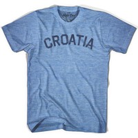 Croatia City Vintage T-shirt