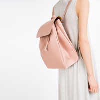 BACKPACK WITH FOLDOVER FLAP - BAGS-WOMAN-COLLECTION AW16 | ZARA United Kingdom