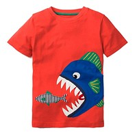 Boys T shirt Baby Summer Clothes Unicorn Dinosaur Animal Kids T-shirts for Boys Clothing Children Short Sleeve Shirts