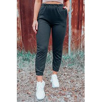 Chill Out Joggers: Black