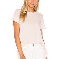 Wildfox Couture Simple Tee in Pink Gloss | REVOLVE