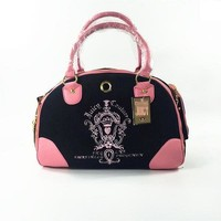 Juicy Couture Pet Carrier - Cat or Dog Sling Tote - Designer Luxury Pet Carrier