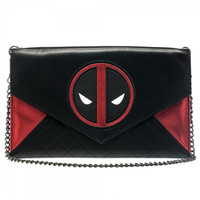 Marvel Deadpool Envelope Wallet with Chain