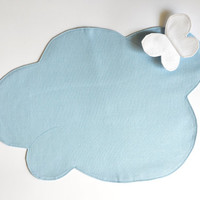 Lunch in the clouds, Table Napkin - Soft Couture