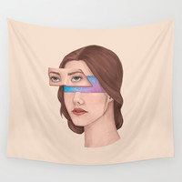 Made Of Stars Wall Tapestry by marylobs