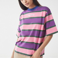 Lazy Oaf Food Baby Striped Tee | Urban Outfitters