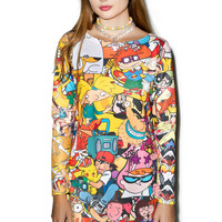 Rage On Totally 90s Dress Multi