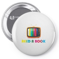 reed a book Pin-back button