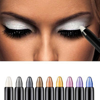 New Hot 1pc Beauty Highlighter Eyeshadow Pencil Cosmetic Glitter Eye Shadow Eyeliner Pen