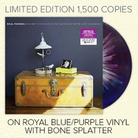 Maybe This Place Is The Same... Royal Blue/Purple W/ Bone Splatter Vinyl : FEAR : Real Friends