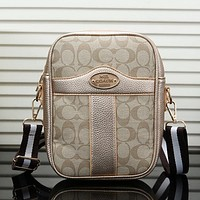 Coach Women Fashion Leather Crossbody Shoulder Bag Satchel