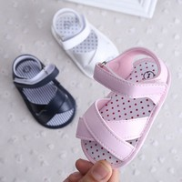 2017 Fashionable Style Baby Shoes Summer Baby Girls Boy Shoes Toddler Shoes Comfortab