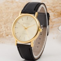 Awesome Trendy Gift New Arrival Designer's Great Deal Good Price PU Leather Simple Design Stylish Watch [6542574915]