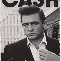 Johnny Cash Portrait Poster 24x36