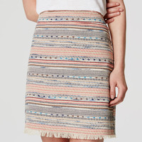 Summer Tweed Skirt | LOFT