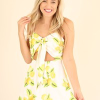 WHAT ABOUT LOVE DRESS- YELLOW