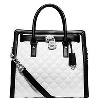 Michael Michael Kors Hamilton Quilted Leather Large Tote