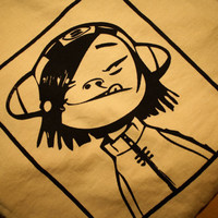 Noodle from the Gorillaz - Screenprinted T-Shirt