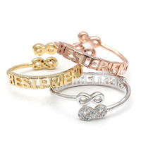 bestfriend ring, infinity ring, best friends ring, friendship ring, girls ring, infinity best friends ring, adjustable ring, best friends
