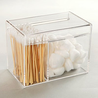 Deluxe Clear Acrylic Multi Purpose Makeup Case / Jewelry Organizer / Office Supplies Holder Storage Box